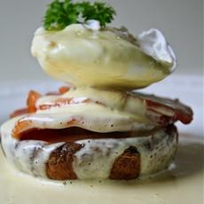 Gluten Free Eggs Benedict with Easiest Blender Hollandaise