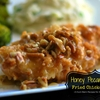 Honey Pecan Glazed Fried Chicken Breast {Contributor Post}