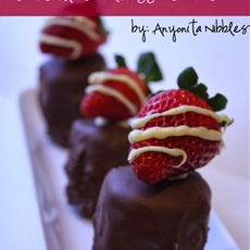 Gluten Free Valentines Strawberry Chocolate Mousse Crunch