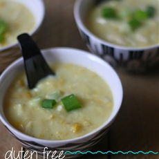 Gluten Free Chicken & Sweetcorn Soup