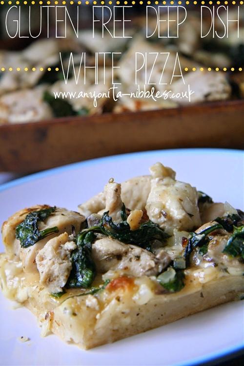Gluten Free Deep Dish White Pizza