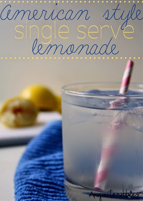 American Style Single Serve Lemonade