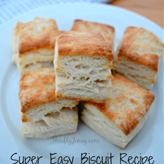 Super Easy Biscuit with No Shortening