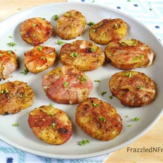 Bacon Wrapped Potato Bites