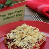 Easy Strawberry Oatmeal Bars Recipe