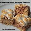SMores Rice Krispy Treats