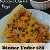 Mac and Cheese Barbecue Chicken Pizza