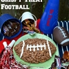 SNICKERS Rice Crispy Treat Football