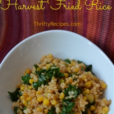 Kale and Corn Fried Rice