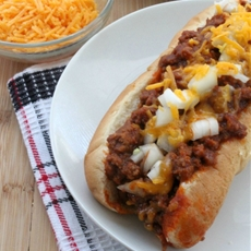 Ultimate Chili Cheese Dog