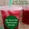 Copycat Starbucks Iced Passion Tea Lemonade