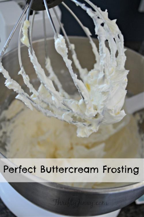 Easy Buttercream Frosting