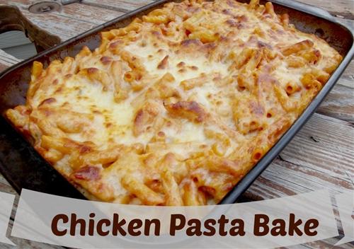Quick Chicken Pasta Bake