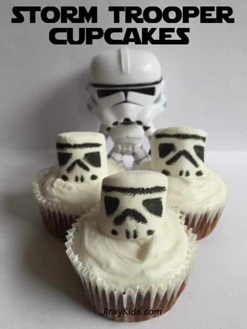 Storm Trooper Cupcake