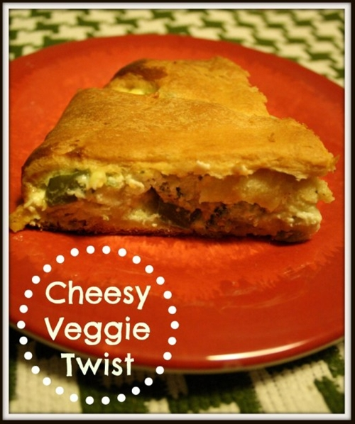Cheesy Veggie Twist