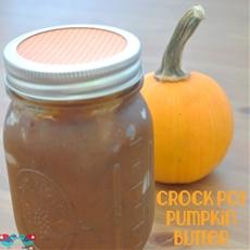 Pumpkin Butter in the Crock Pot