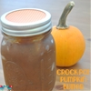 Pumpkin Butter in the Crock Pot
