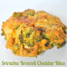 Sriracha Broccoli Cheddar Bites