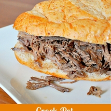 Crock Pot Balsamic Roast Beef