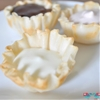 Phyllo Cup Dessert Recipe with 3 unique fillings
