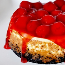 Mini Oreo Cherry Cheesecake