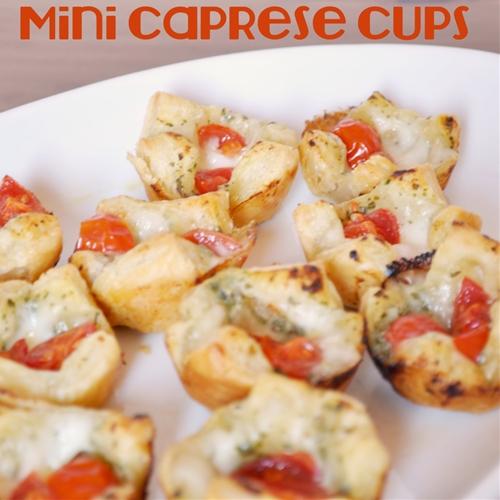 Mini Caprese Cups - The Perfect Bite Size Appetizer