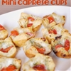 Mini Caprese Cups - The Perfect Bite Size Appetizer