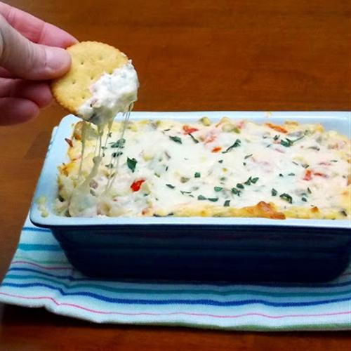 Ritz White Pizza Meatball Dip
