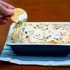 Ritz White Pizza Meatball Dip