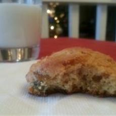 Raisin Yogurt Cookies