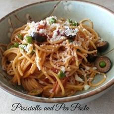 Prosciutto and Pea Pasta