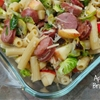 Apple sausage brussels sprouts casserole