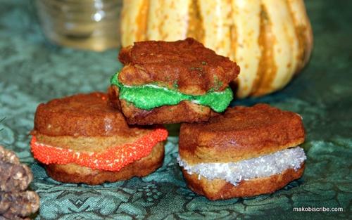 Thanksgiving Sweet Potato Spiced Whoopie Pie Recipe | Makobi Scribe