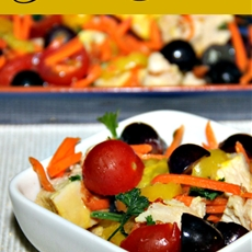 Paleo Chicken Fruit Salad