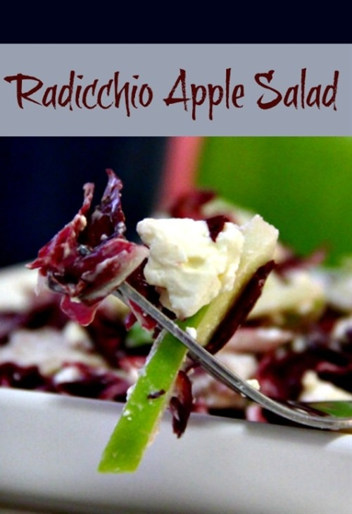 Radicchio Apple Salad | Makobi Scribe