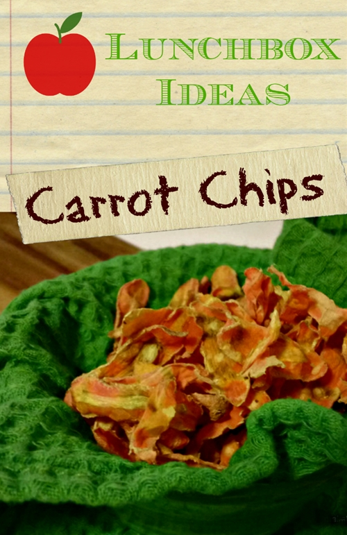 Carrot Chips Recipe Great Alternative To Croutons | Makobi Scribe