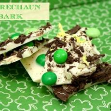 White Chocolate Leprechaun Bark
