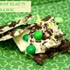White Chocolate Leprechaun Bark