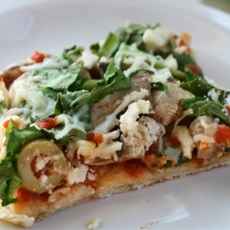 Spicy Vegetarian Pizza
