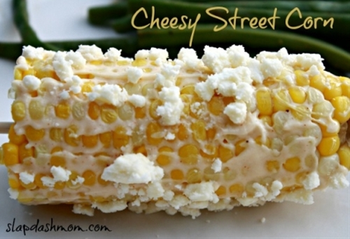 Cheesy Street Corn