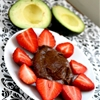 Vegan Chocolate Avocado Fruit Dip Recipe