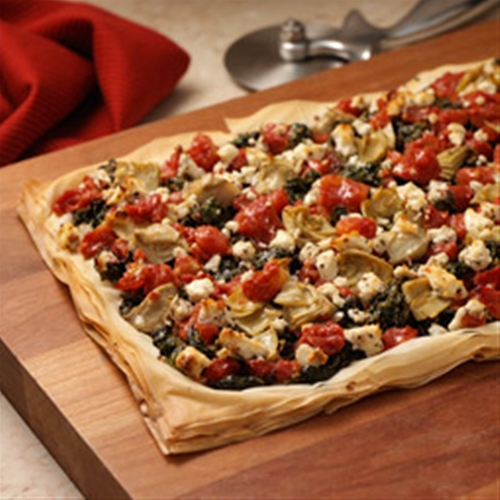 Greek Style Pizza Recipe