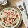Creamy Rice and Shrimp
