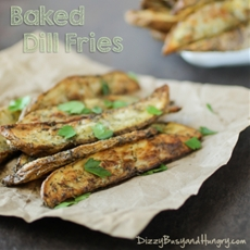 Baked Dill Fries