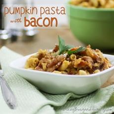Pumpkin Pasta with Bacon