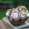 Chocolate Pie Crust Sundae Cups