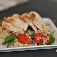 Citrus Chicken and Quinoa Salad