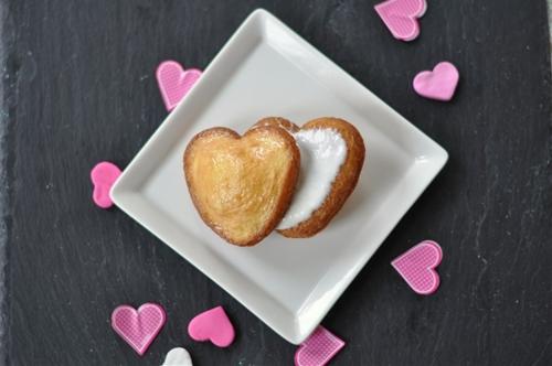 Heart Shaped Mini Tres Leche Cake