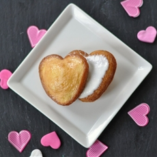 Heart Shaped Mini Tres Leche Cake