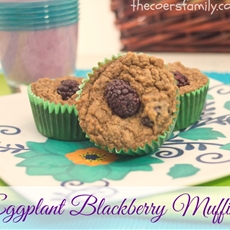 Eggplant Blackberry Muffins - The Coers Family